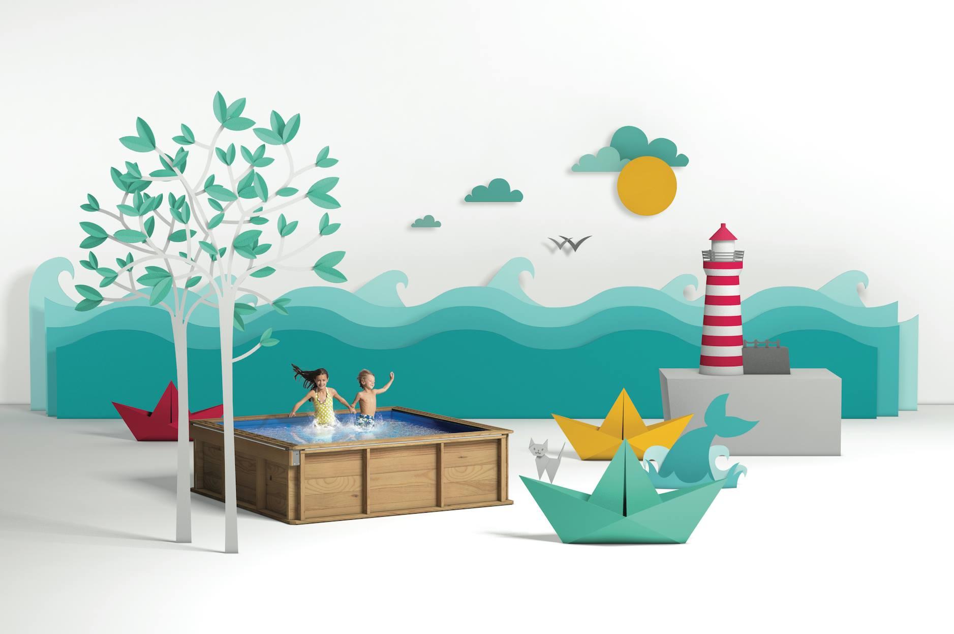 d couvrez la piscine pour enfant pistoche uttra s curis e. Black Bedroom Furniture Sets. Home Design Ideas