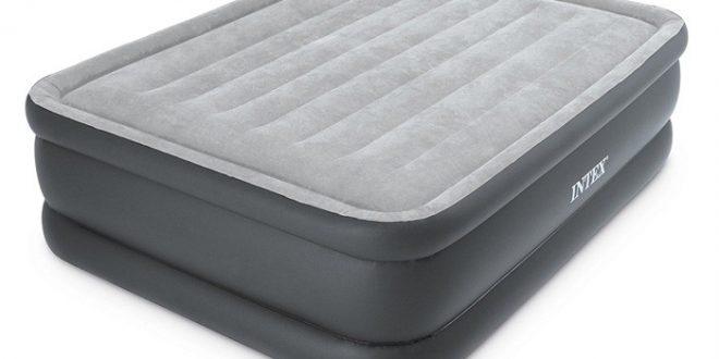 Raviday vous présente le matelas gonflable électrique 2 places Intex Essential Rest Bed Fiber-Tech
