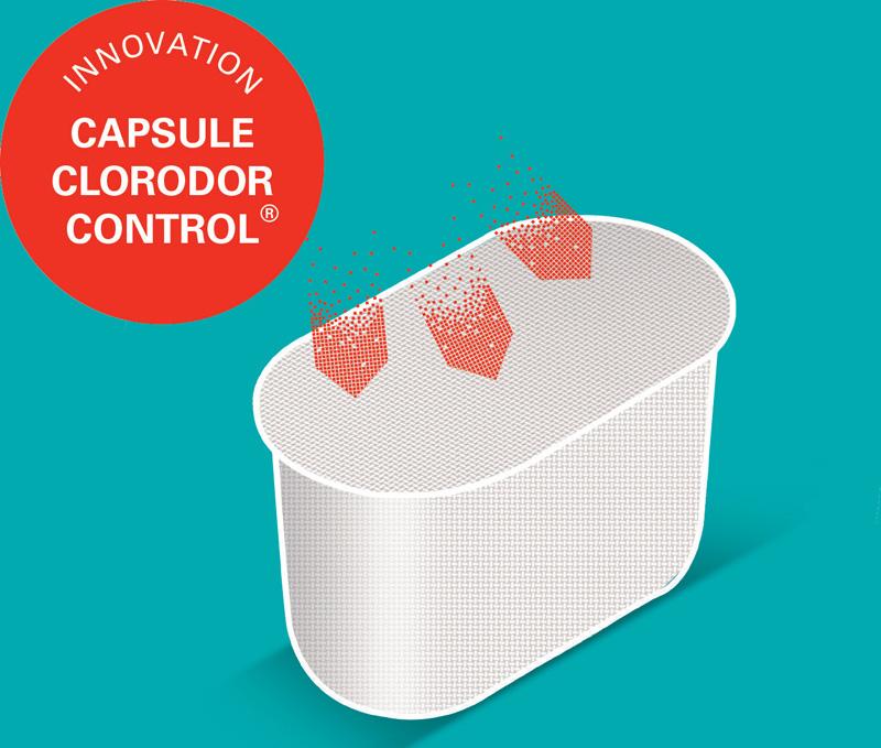 Raviday vous présente la capsule Clorodor Control de Bayrol
