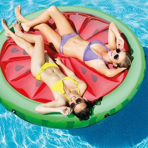 bouee-matelas-piscine-forme-pasteque
