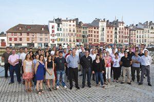 L'équipe de Forge Adour à Bayonne au Pays Basque