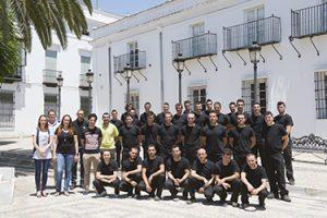L'équipe de Forge Adour à l'usine en Espagne
