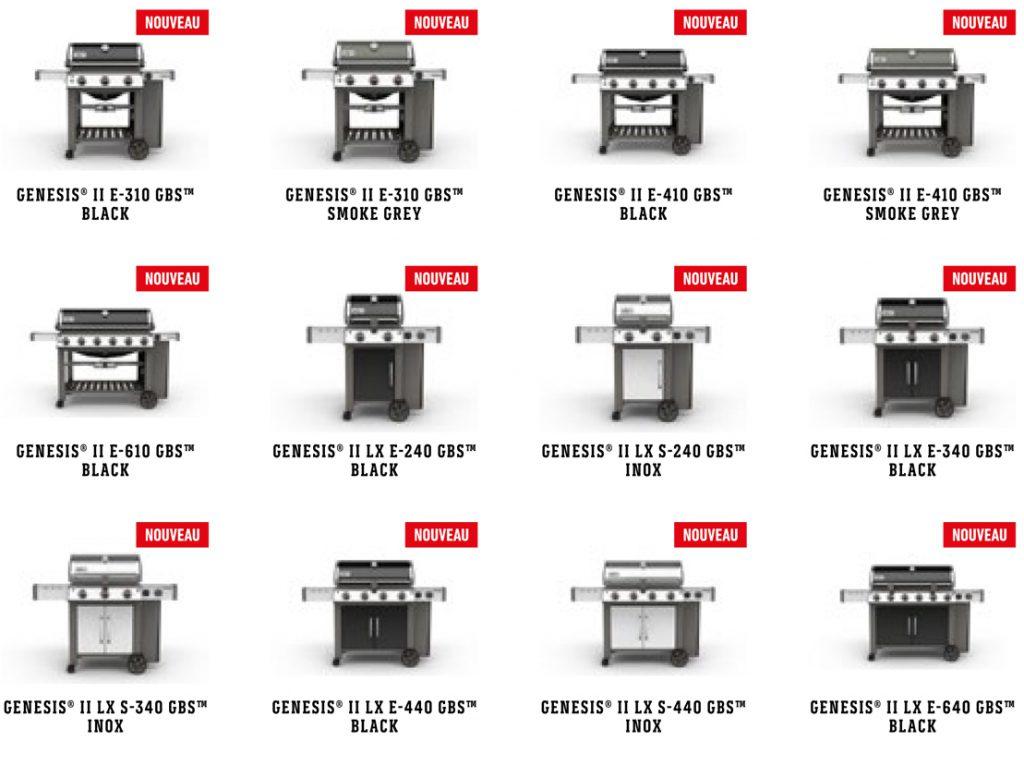 Raviday vous présente la gamme Genesis Weber 2017