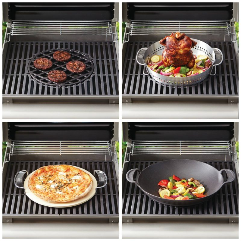 La multi cuisson au barbecue weber campingaz et barbecook - Poulet au barbecue weber ...