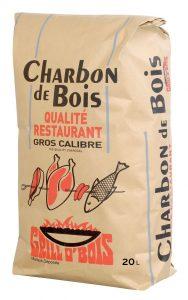charbon de bois qualité restaurant Grillobois vendues chez Raviday Barbecue