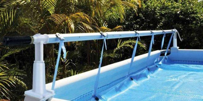 enrouleur de b che pour piscine hors sol blog raviday. Black Bedroom Furniture Sets. Home Design Ideas