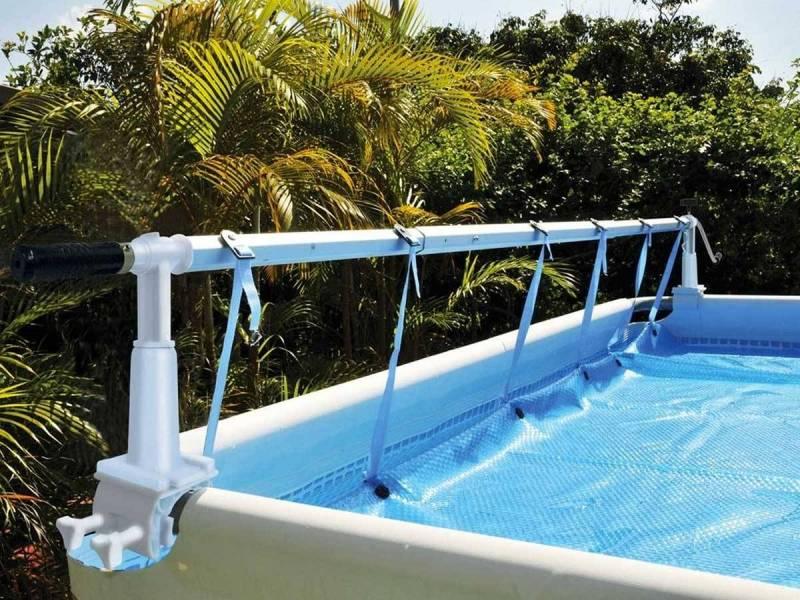 Enrouleur de b che pour piscine hors sol blog raviday - Comment installer une piscine hors sol ...