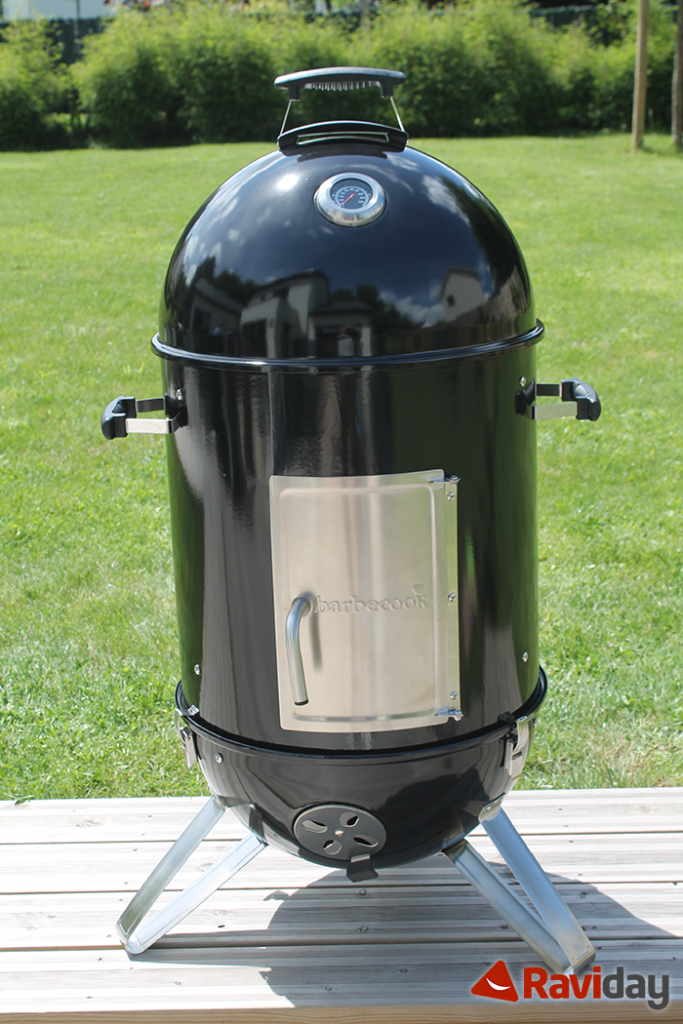 Fumoir Barbecook Oskar monté par Raviday