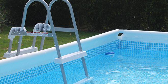 d38a2d2cef8 Montage de l échelle de la piscine Intex Prisme Frame 4 x 2 x 1 m - Blog de  Raviday