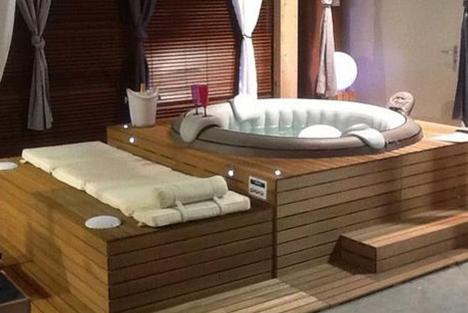 Exceptionnel 10 idées d'habillage pour votre spa gonflable TP43