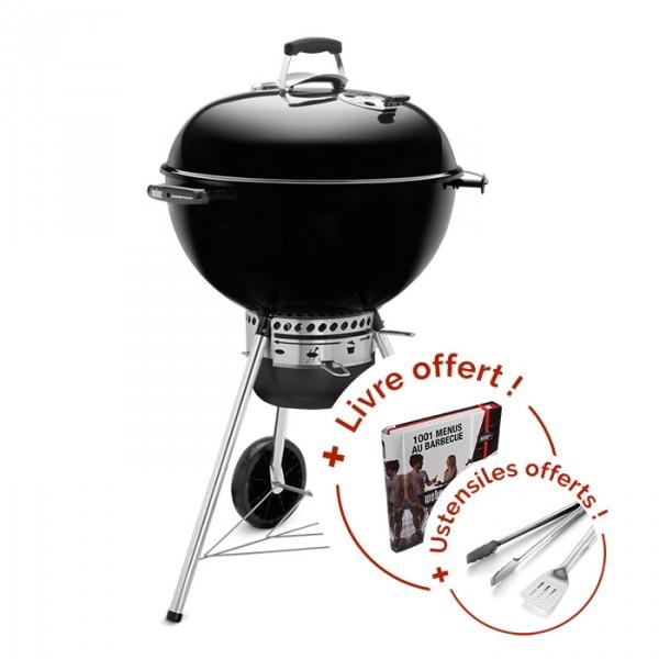 c74b665cc3b Barbecue Weber Master Touch à 289€ avec livre et ustensiles offerts