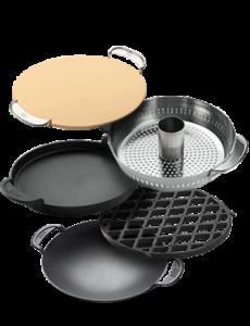 5 supports de cuisson disponibles pour le Master Touch
