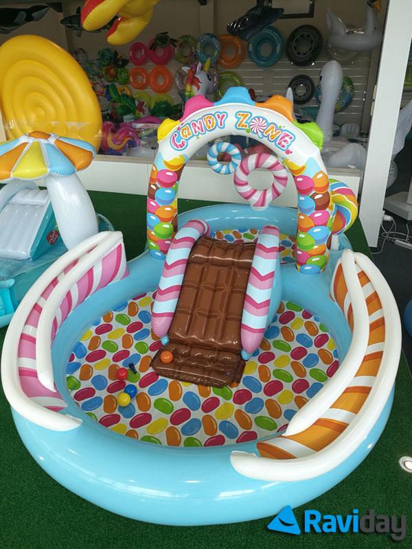 Aire de jeu gonflable Candy Zone Intex