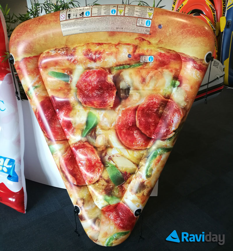 La pizza gonflable Intex