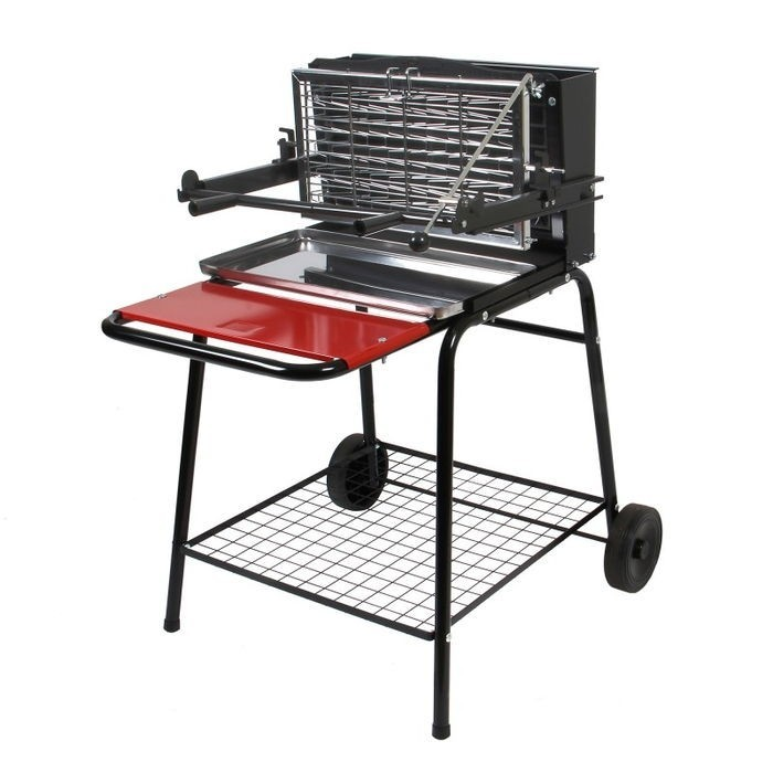 Le barbecue à charbon Somagic Raymond est un barbecue spécialisé dans la cuisson verticale.