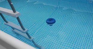 Diffuseur flottant pour la désinfection de piscine au chlore