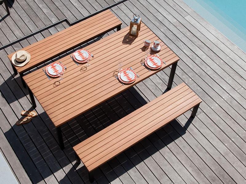 Table de jardin Vegas - Proloisirs