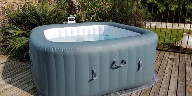 montage du spa gonflable bestway hydrojet pro hawaii. Black Bedroom Furniture Sets. Home Design Ideas