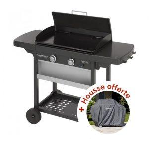 Une housse offerte pour l'achat d'une plancha Campingaz EX 2 chez Raviday Barbecue