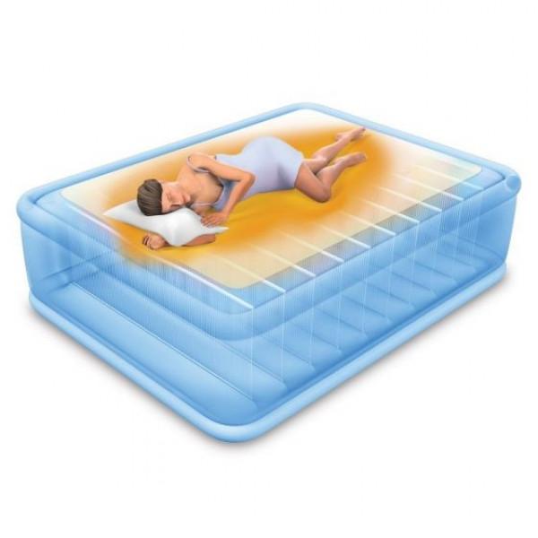 Matelas gonflable Intex controle température
