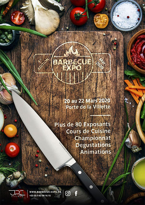 Affiche du Salon Barbecue Expo