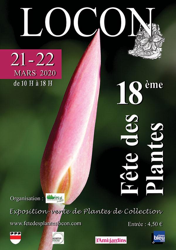 fêtes des plantes de Locon - 21 au 22 mars 2020