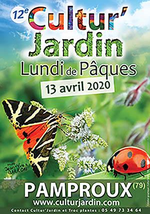 Fête des plantes de Pamproux - Deux-Sèvres - culturjardin 2020