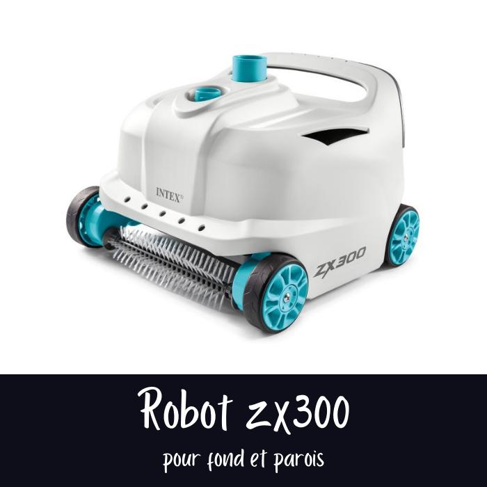 Nouveautés Intex 2021 : Robot de piscine ZX300 Intex