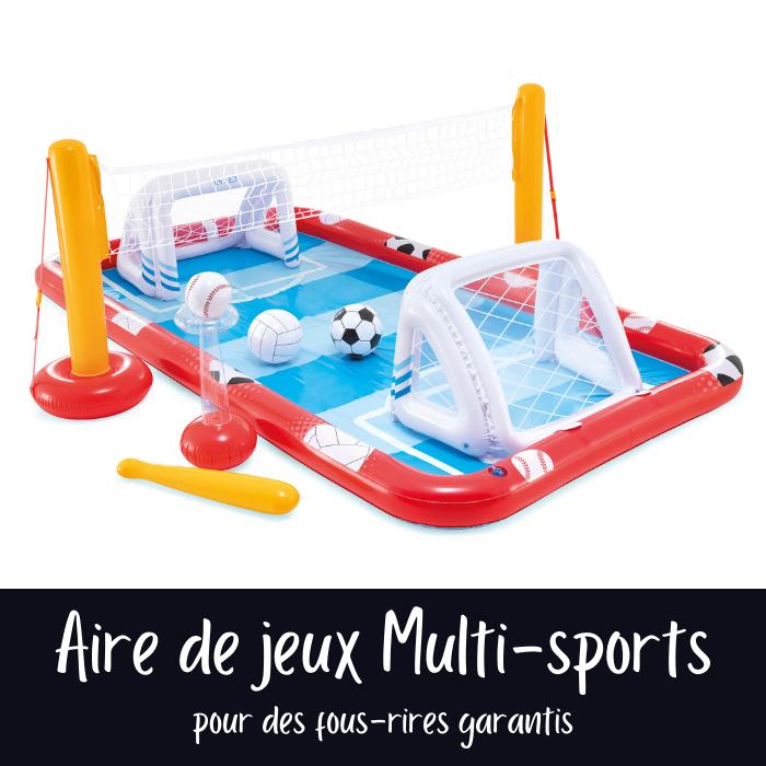 Nouveautés Intex 2021 : Aire de jeux Multi-sports Intex