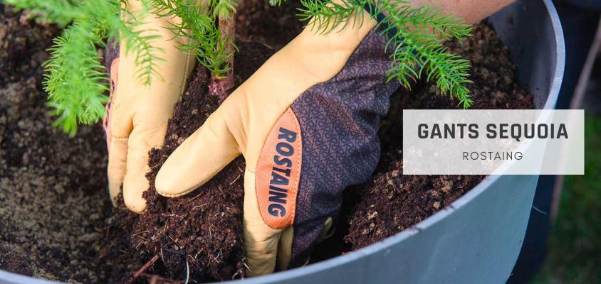 Gants de jardinage Sequoia Rostaing 1