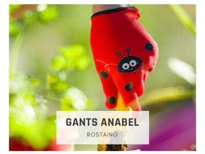 Gants de jardinage enfant Anabel Rostaing