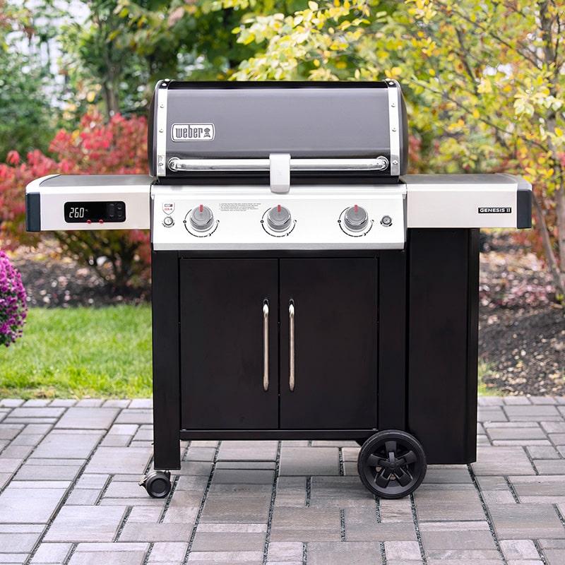 Barbecue à gaz connecté Weber Genesis II EX-315 GBS