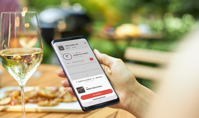 Smart Grilling : la grillade intelligente avec l'application Weber Connect