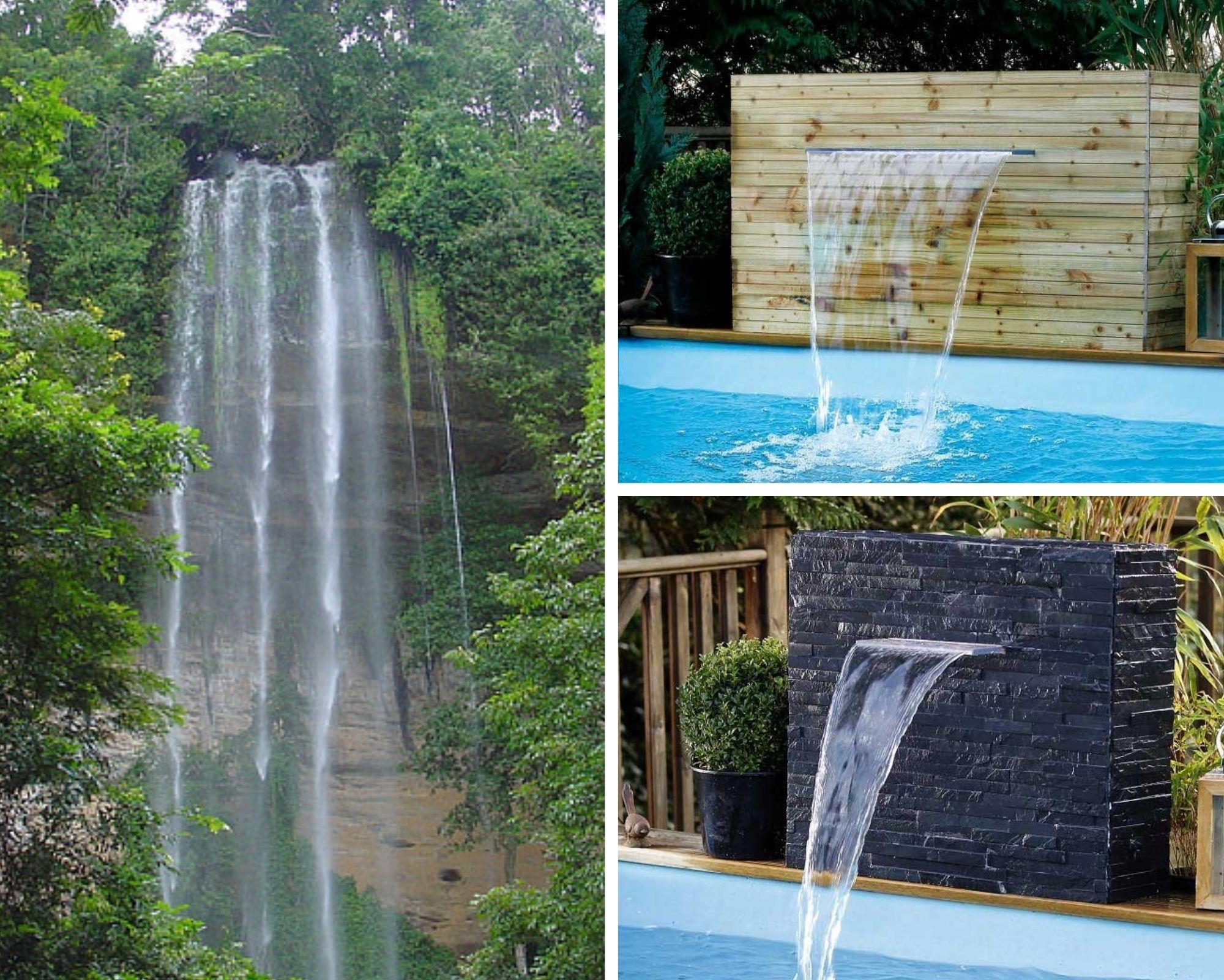 Cascades pour piscine Ubbink Niagara
