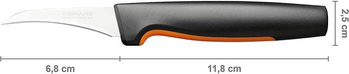 Couteau à légumes lame courbée