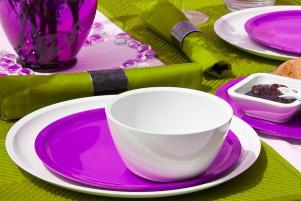 Marque zak designs vaisselle m lamine couverts et for Marque ustensile cuisine