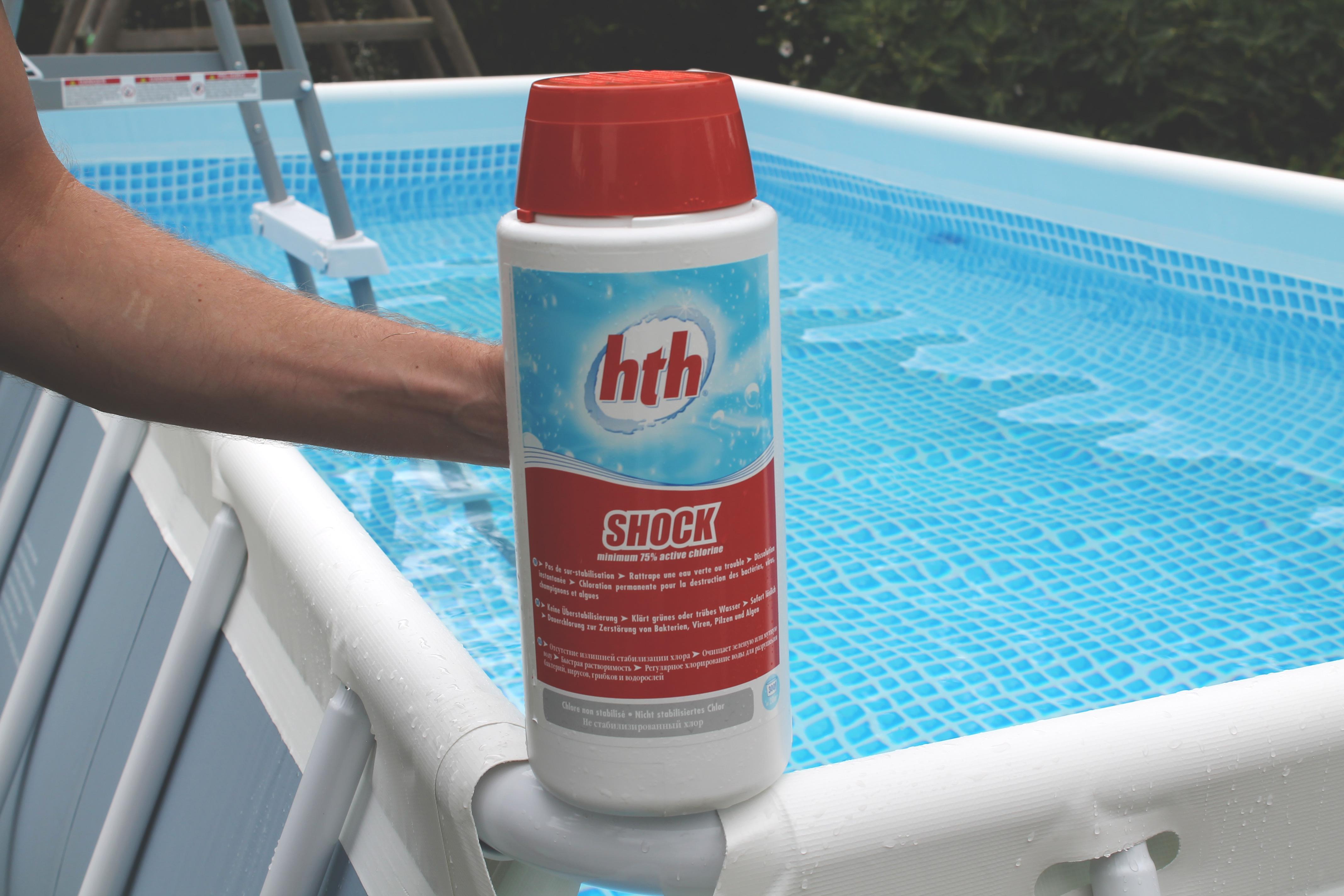 marque hth produits pour l 39 entretien de l 39 eau des piscines. Black Bedroom Furniture Sets. Home Design Ideas