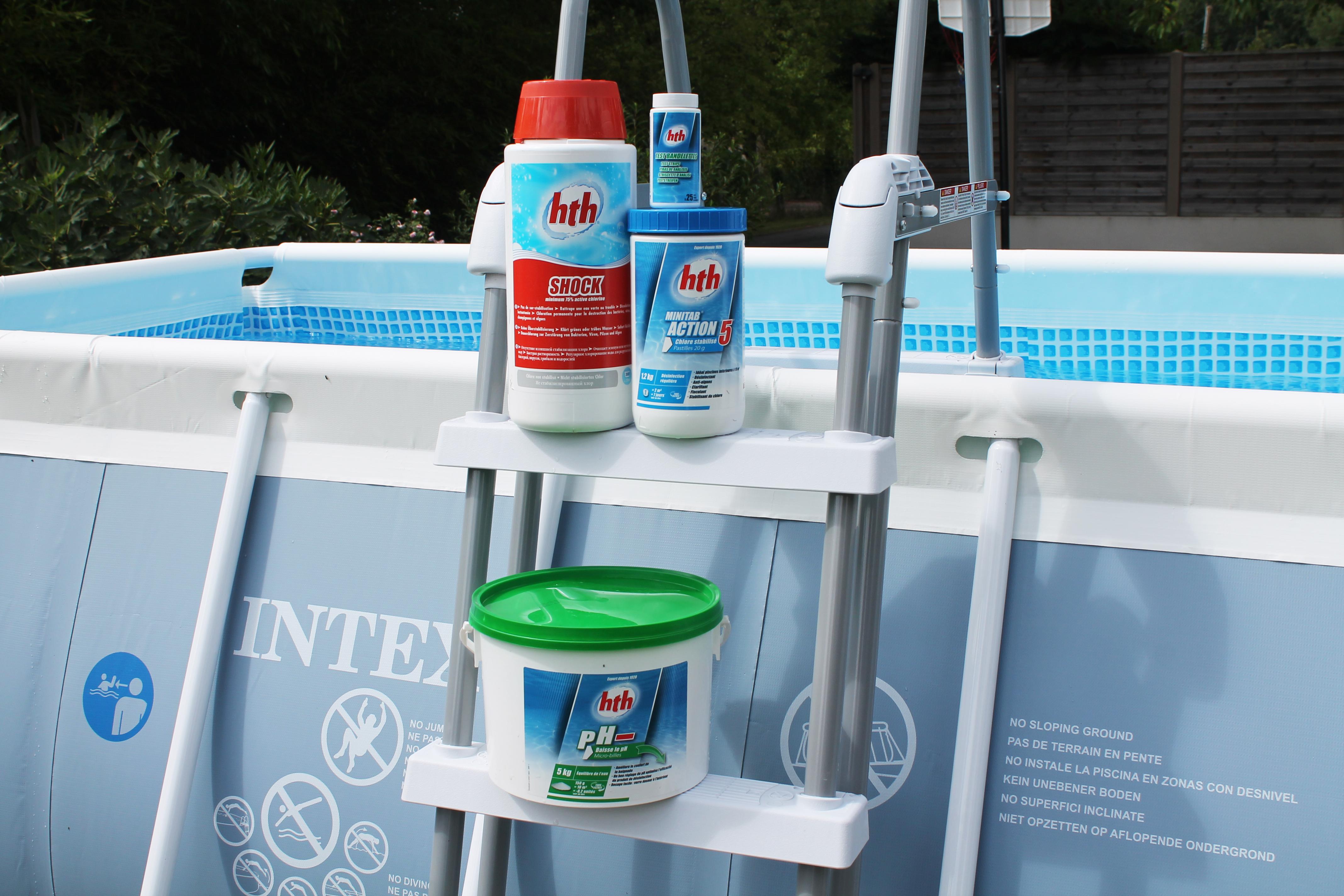 Marque hth produits pour l 39 entretien de l 39 eau des piscines for Entretien eau piscine